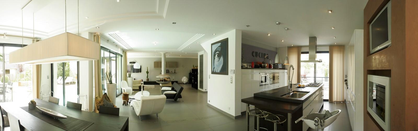 Beautiful Image Interieur De Maison Contemporary - Awesome ...